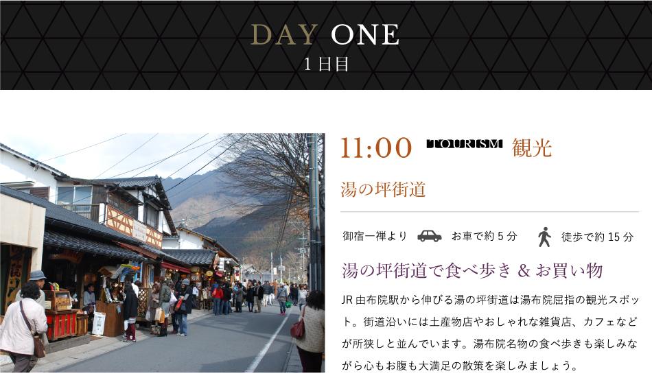 1日目11:00観光